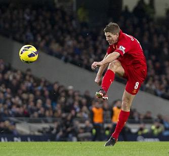 Gerrard vs City GOAL