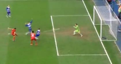 Suarez vs Reading SAVE