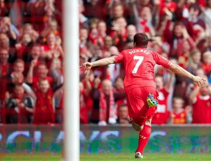 Suarez vs Crystal Palace