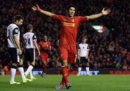 Suarez v Norwich (H) Dec 2013