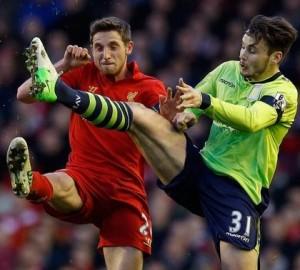 Liverpool 1 Villa 3