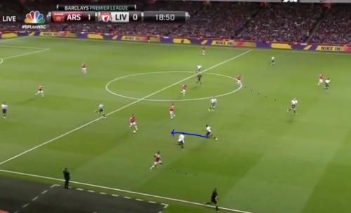 Cazorla marked poorly ARSENAL opening goal