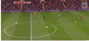 Goal v Arsenal