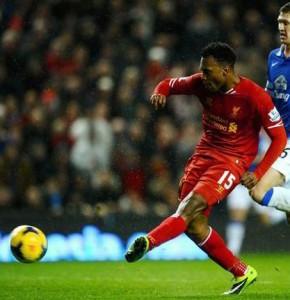 Sturridge v Everton