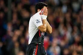 Suarez after Palace