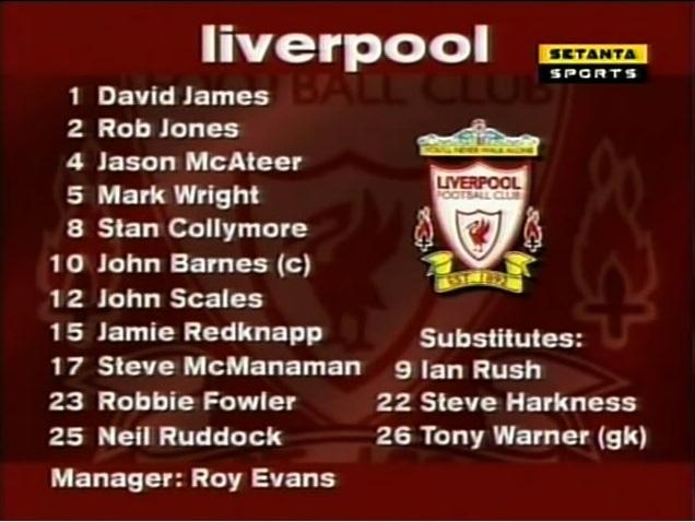 Liverpool vs. Newcastle United, 1996