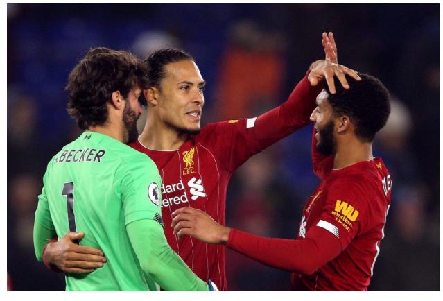 Alisson, Virgil and Joe – Europe's Top Trio?